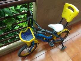 crox kids tricycle cum bicycle