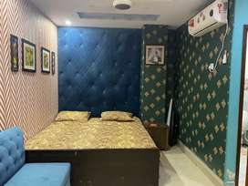 AC frig oven led ups guseir fully furnished apartment 1bed 1bath