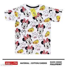 Baju kaos anak full print berkarakter