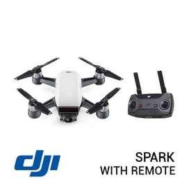 DJI drone spark controller combo alphine white