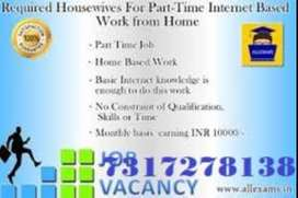 .FEMALE CANDIDATE NEEDED FOR BACK OFFICE JOB BASIC COMPUTER KNOWLEDGE