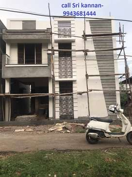 New 2000 sft,3 Bhk individual house for sale in Arun nagar,vadavalli.