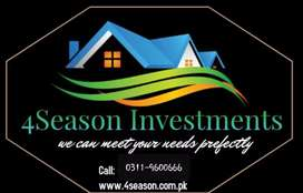 4 or 8 Marla Commercial Plots In Capital Smart City Islamabad