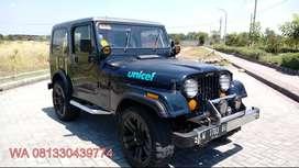 Jeep CJ7 Diesel asli 4x4 offroad
