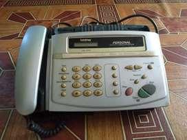 Mesin fax dan telp
