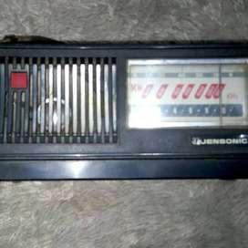 Radio antik mw merk jensonic portable