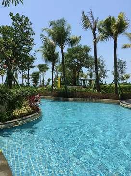 Apartment MEWAH Borneo Bay 2 bedroms view pantai di sewakan