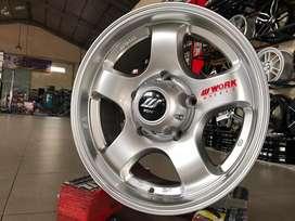 Velg R16x5x139.7 ET10 Work Meister Silver