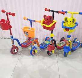 Otoped atau scooter besi