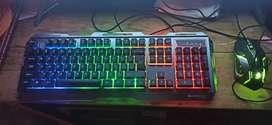 Zebronics LED Keyboard & Mouse