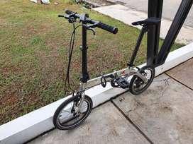 FoldX X2 Sepeda Lipat (16 Inch)