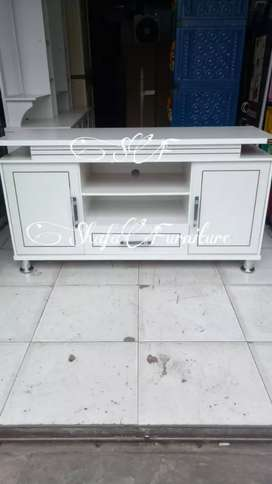 Promo Meja TV Putih Cantik, Cod