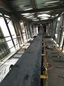 Karet konveyor, belt conveyor