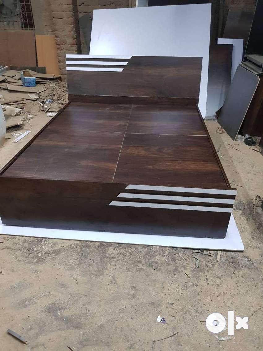 Bed, wardrobe., almari factory unit