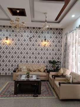 2 BHK Furnished Apartment in Residential Area with Gated Society Near