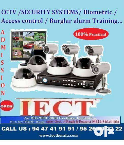 Best cctv installation training course in IECT 0