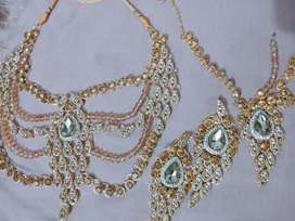 Bridle and party wear set available