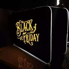 Neonbox cutting sticker BLACK FRIDAY