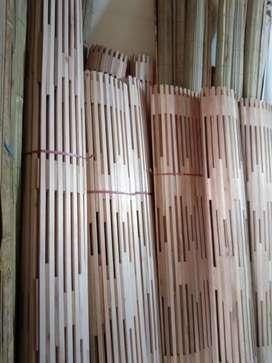 Jual tirai bambu dan tirai rotan dan isi bambu