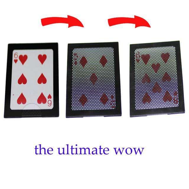 Alat Sulap WOW 3 Card Kartu 0