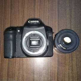 Canon 50D with 50mm lens in 10/10 Condition