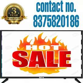 """Discount sale!!40"""" smart hdtv in 9999/- up-to 3 yr warranty"""