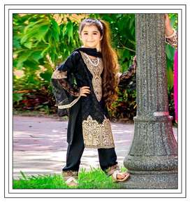 Maria B kids winter collection box Available on linen and Dhanak_
