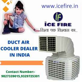 Ice fire Duct air cooler