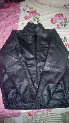 Jaket kulit seiko size XL