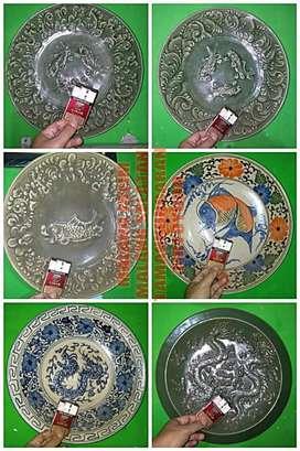 Piring antik kuno peningalan ,6 buah jual borongan
