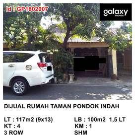 Dijual Rumah Taman Pondok Indah Dekat Pakuwon Mall