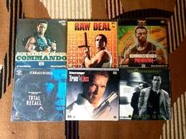 Laserdisc film Arnold Schwarzenegger