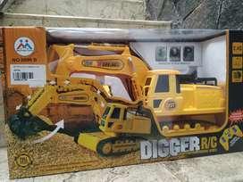 mainan anak mobil ekskavator baru