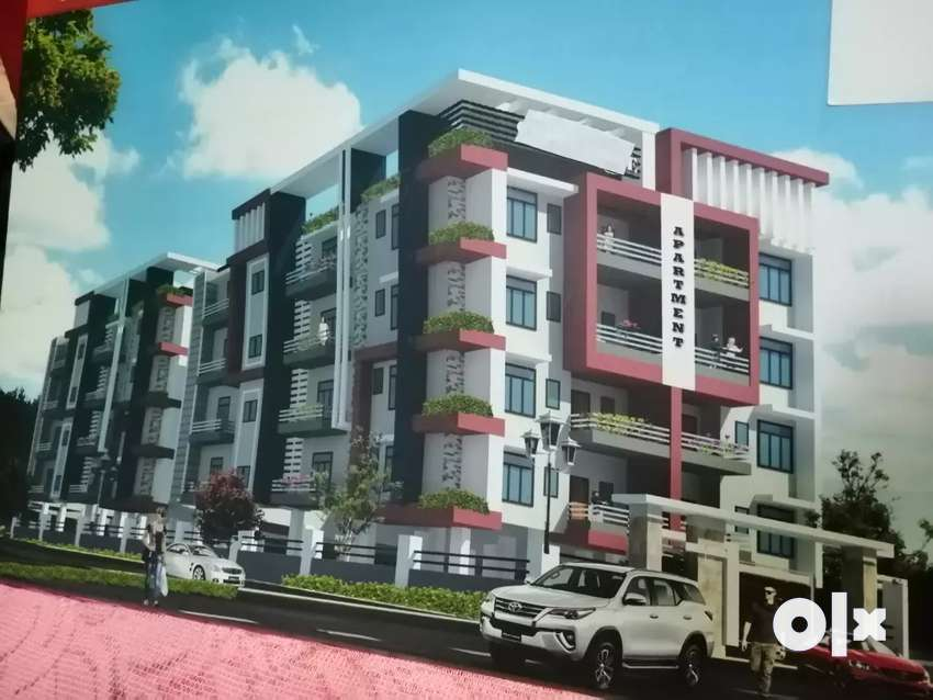 At VIP road (Sixmile), 3bhk under construction flat 0