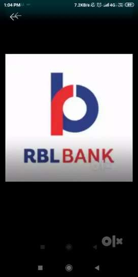 Bank urgent vacancy in branch near by location