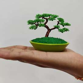 Wire tree, Bonsai