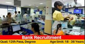 Office Assistant cum CCE job openings for bank process in Delhi
