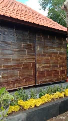 Krey bambu hitam asli
