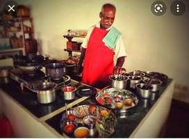 Guest house cook Chettinadu items