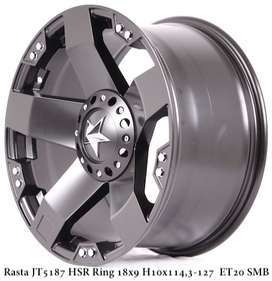 velg jeep rubicon ring 18 double pcd 5x114,3/127