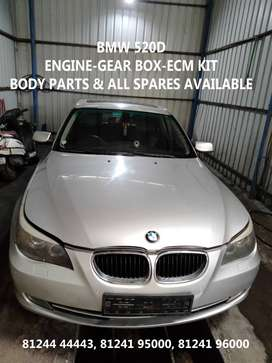 BMW  520D  ENGINE  GEARBOX ALL SPARE PARTS AVAILABLE  ORIGINAL GENUINE