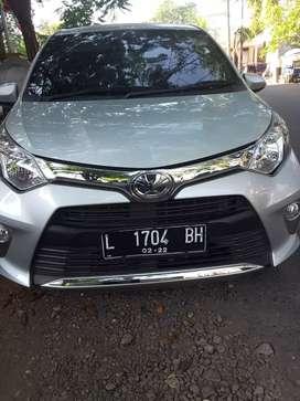 Jual Toyota Calya G 2017 AT, Silver