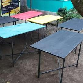 Meja lipat multyi fungsi atau meja kayu