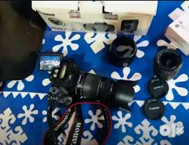 CANON EOS DSLR CAMERA with touch screen display