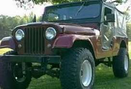 Willys modified di  jeep