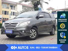 [OLX Autos] Toyota Kijang Innova 2.0 G Bensin A/T 2015 Abu-abu