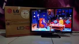 "LED TV LG 22"" USB Player Compatible HDTV Full SET"