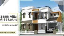 P108 Kozhikode  3 BHK Villa സ്വന്തമാക്കൂ .VILLA_FOR_SALE_IN_CALICUT