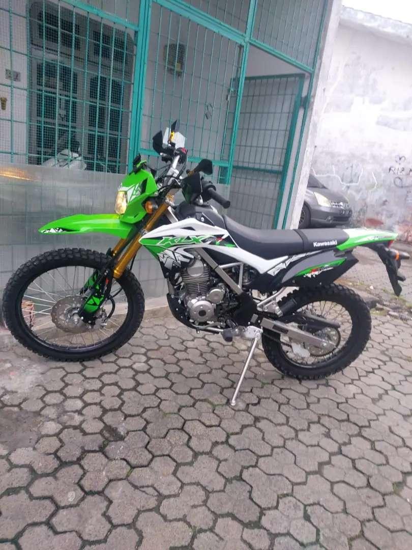 Jual Motor KLX, pemakaian baru 2 Bulan, KM 1.300 0