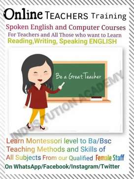 Spoken English, Teachers Training and Computer Courses